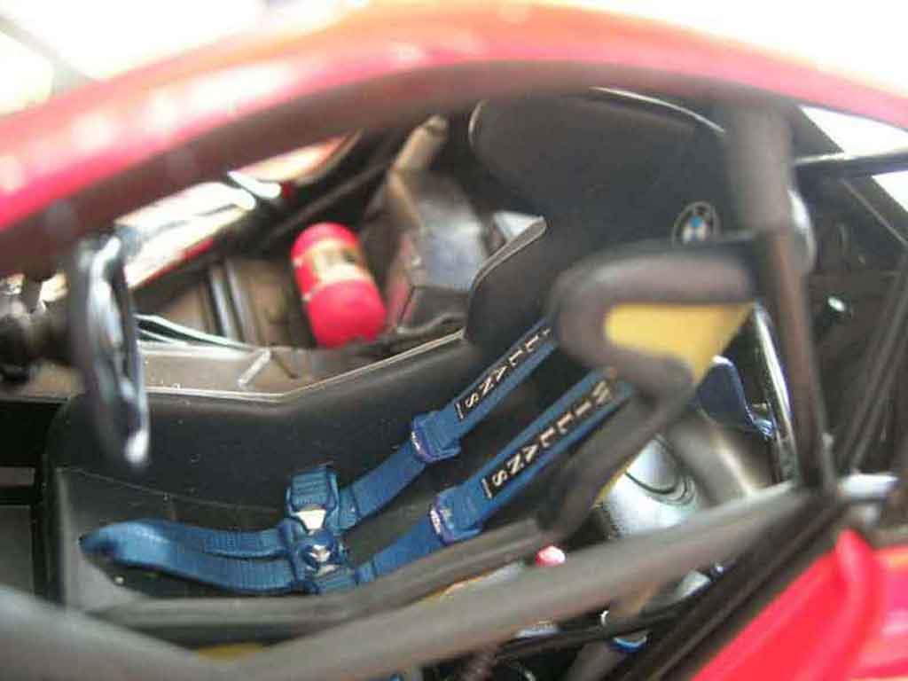 Bmw M3 E46 1/18 Minichamps GTR red