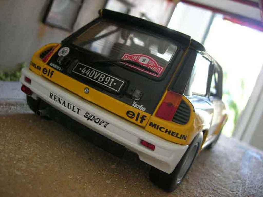 Renault 5 Turbo 1/18 Universal Hobbies rallye ragnotti