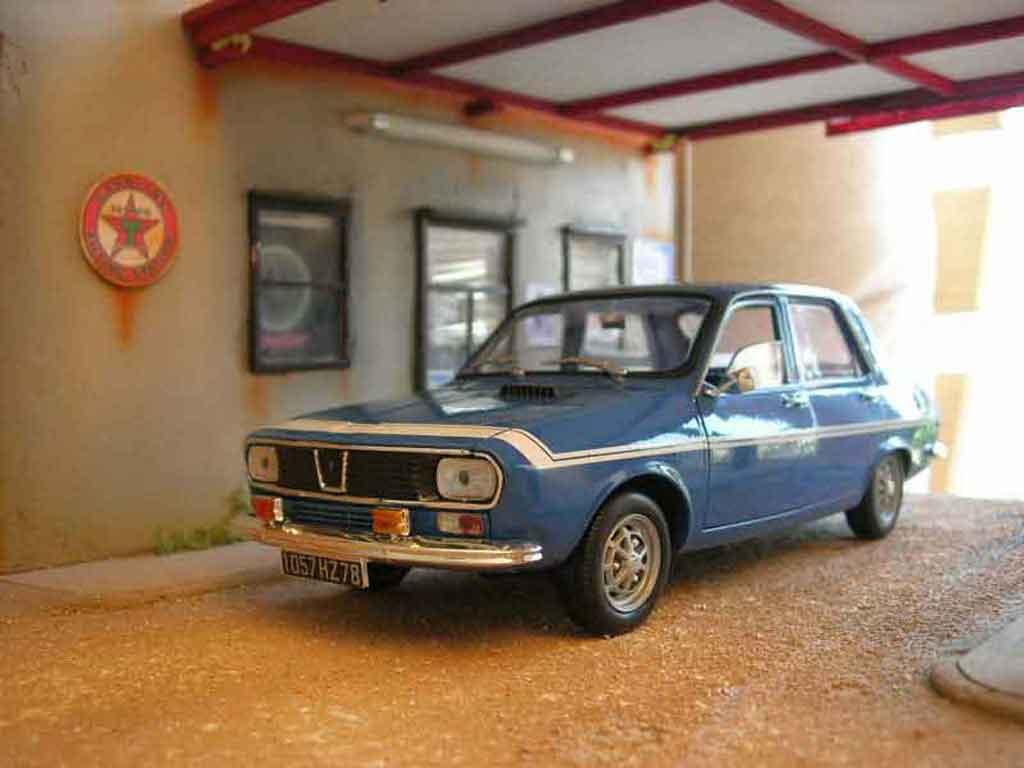 Renault 12 Gordini 1/18 Solido 1971 blau