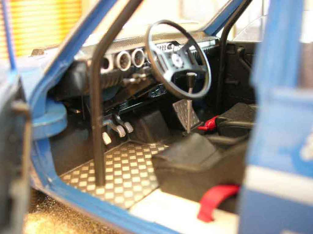 Renault 12 Gordini 1/18 Solido rallye #2 bleue