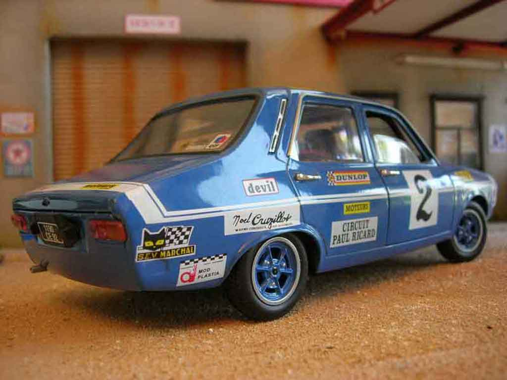 renault 12 gordini miniature rallye solido 1 18 voiture. Black Bedroom Furniture Sets. Home Design Ideas