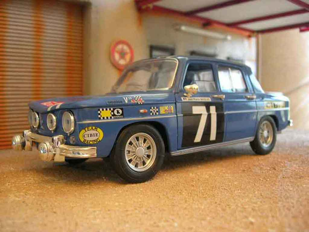 Renault 8 Gordini rallye Solido. Renault 8 Gordini rallye Rallye miniature miniature 1/18