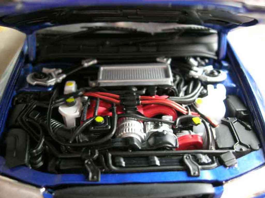subaru impreza sti gt turbo wrx blau autoart modellauto 1. Black Bedroom Furniture Sets. Home Design Ideas