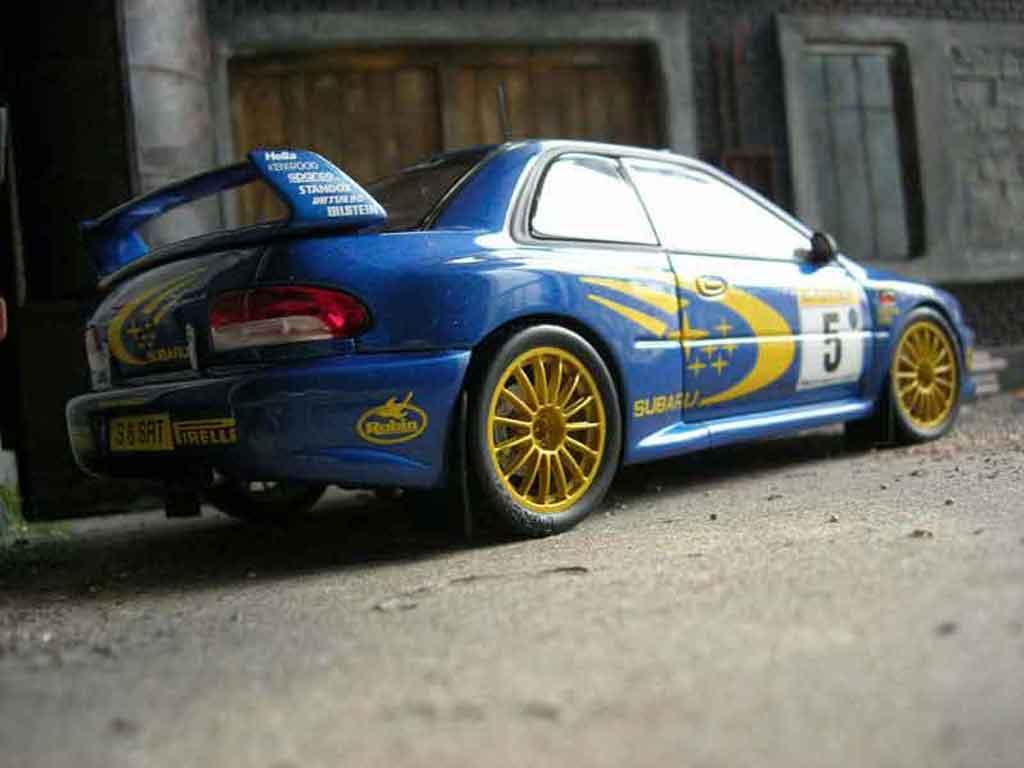 Subaru Impreza WRC 1/18 Autoart r.burns 1999