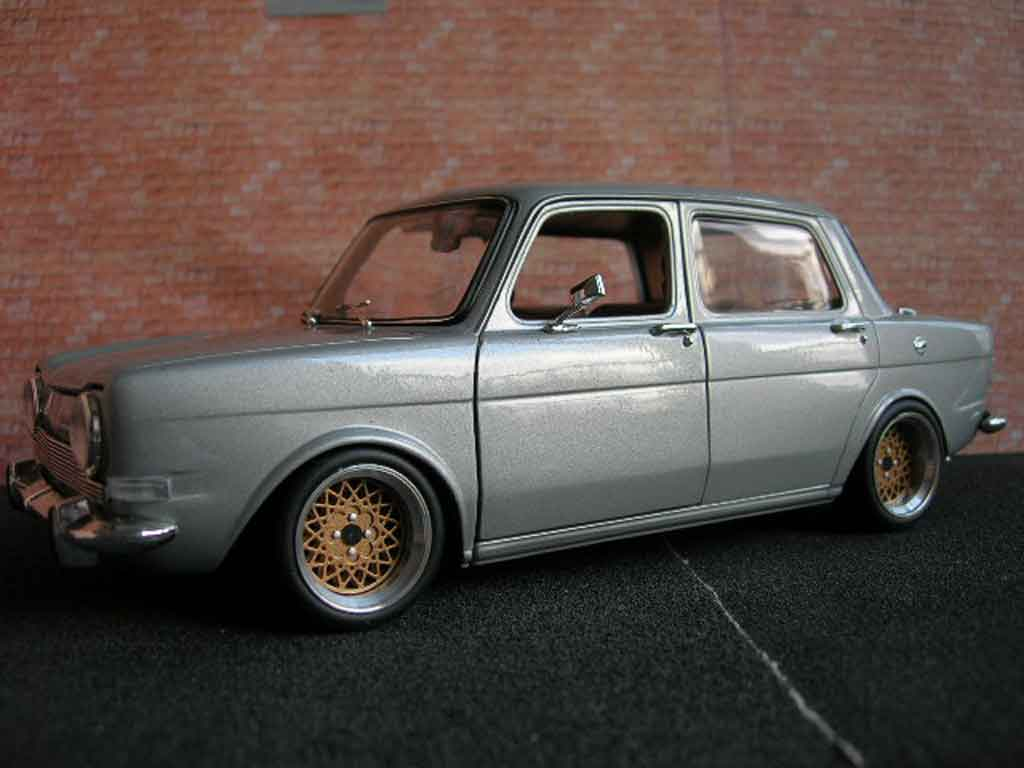Simca 1000 1/18 Norev  tuning miniature