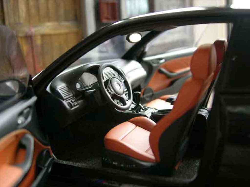 Bmw M3 E46 noire Autoart. Bmw M3 E46 noire miniature auto miniature 1/18