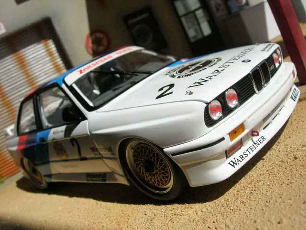 bmw m3 e30 dtm warsteiner minichamps diecast model car 1. Black Bedroom Furniture Sets. Home Design Ideas
