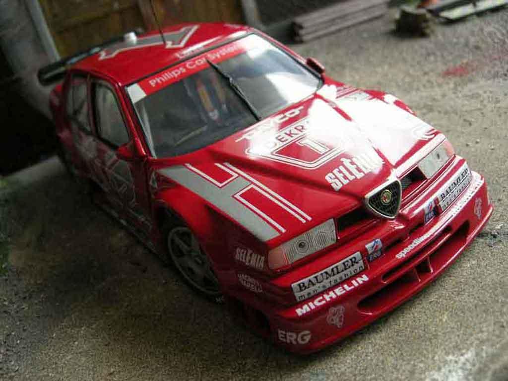 Alfa Romeo 155 1/18 Ut Models q4 v6 94 dtm #1 larini miniature