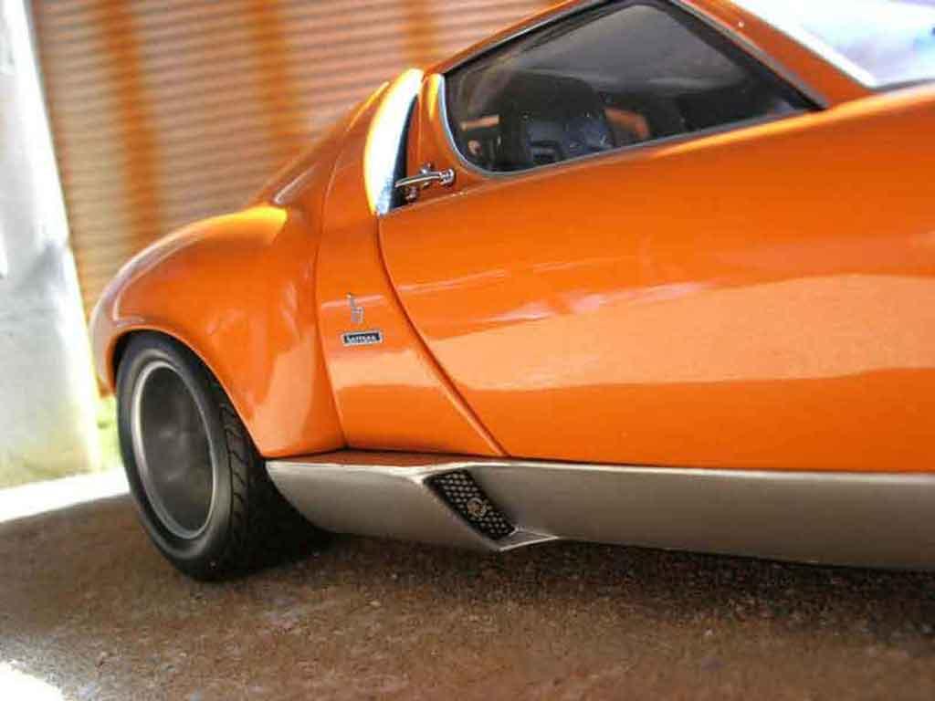 Lamborghini Miura P400 1/18 Kyosho jota svr orange