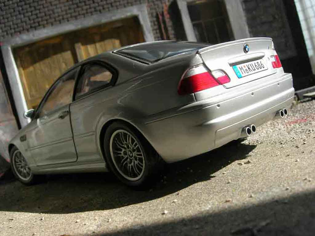 Bmw M3 E46 1/18 Kyosho gray