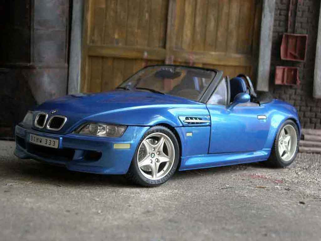 Bmw Z3 Roadster M Burago Diecast Model Car 1 18 Buy Sell