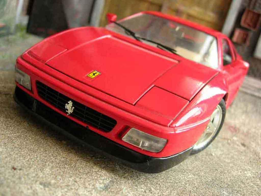 ferrari 348 tb rot burago modellauto 1 18 kaufen verkauf modellauto online. Black Bedroom Furniture Sets. Home Design Ideas