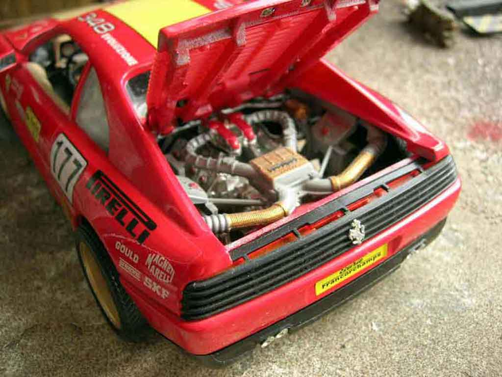 Ferrari 348 TB 1/18 Burago challenge #177