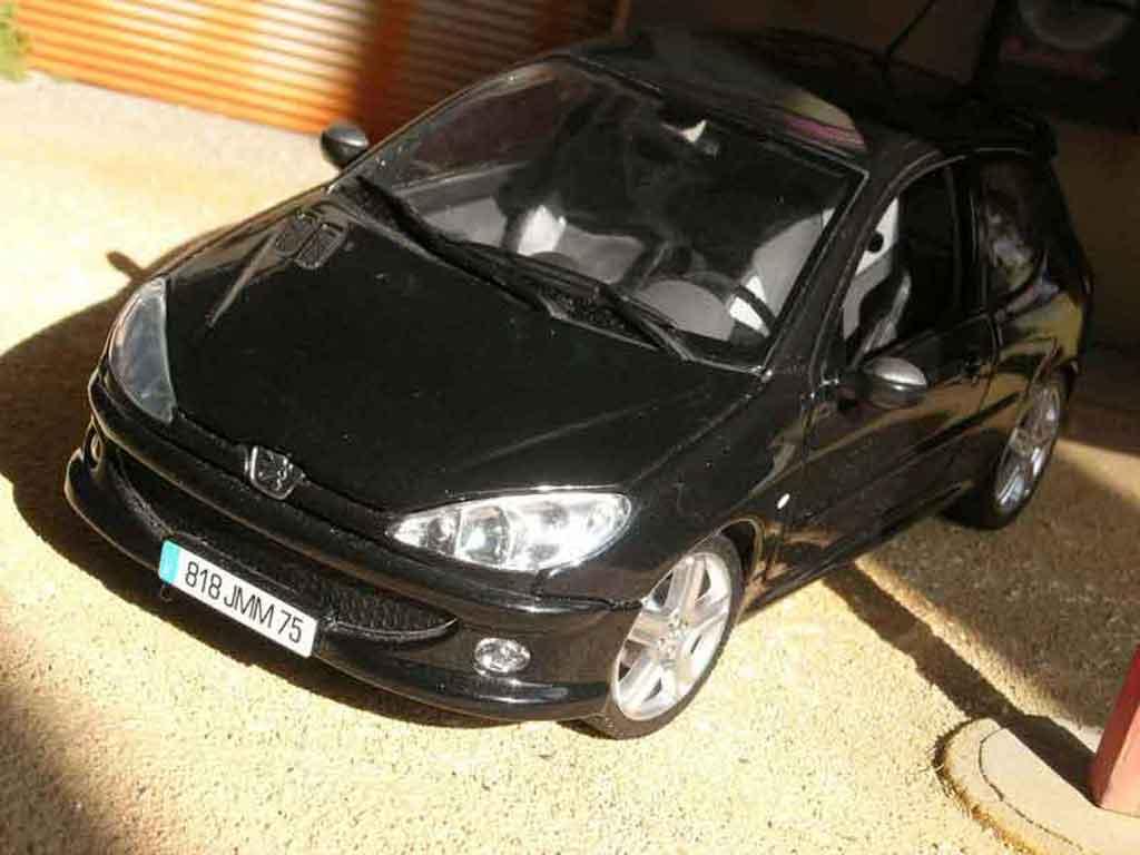 Peugeot 206 RC 1/18 Norev noire