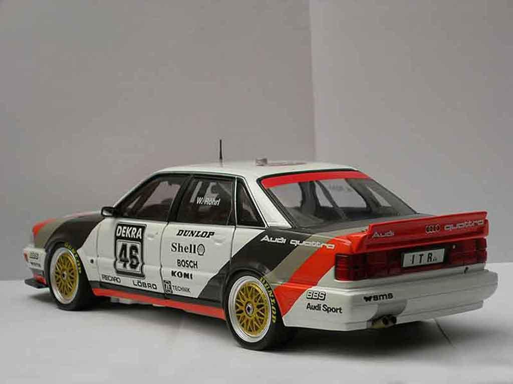 Audi V8 Quattro 1/18 Minichamps Quattro #46 dtm 1991