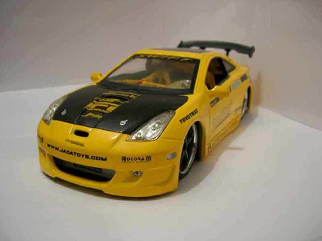 Toyota Celica Import 1/18 Jada Toys Toys Import racer jaune miniature