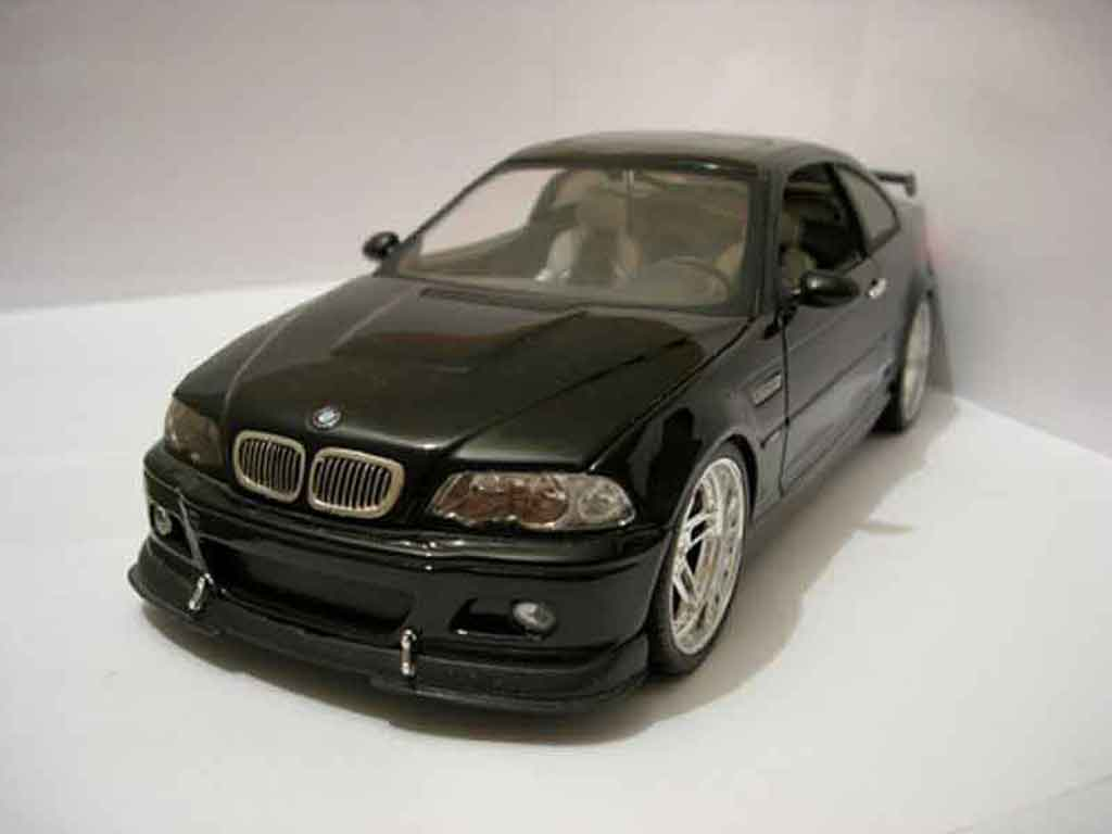 Bmw M3 E46 1/18 Jada Toys Toys tuning ac schnitzer s3 noire miniature