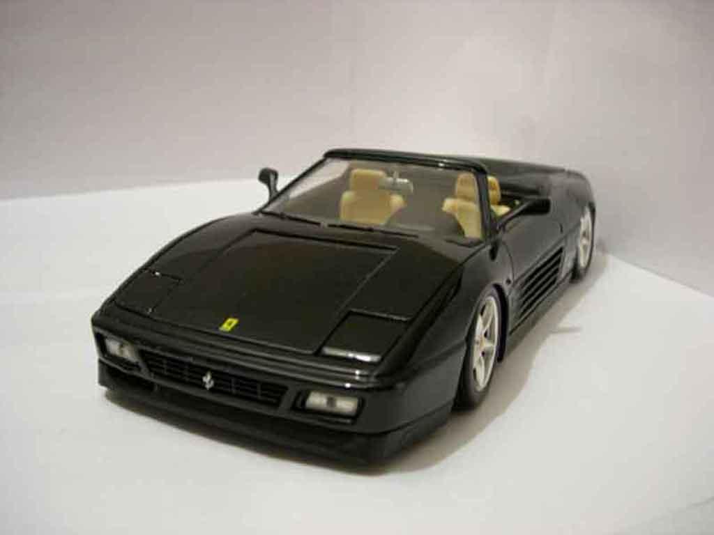 Ferrari 348 Spider 1/18 Mira noir jantes modena tuning diecast model cars