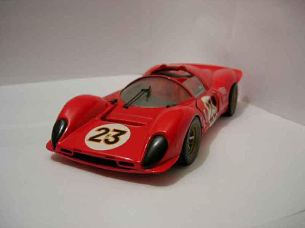 Ferrari 330 P4 1/18 Jouef rouge #23 miniature