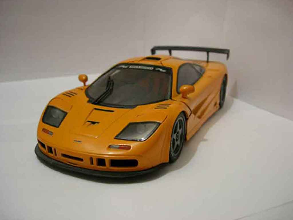 McLaren F1 1/18 Ut Models gtr orange miniature