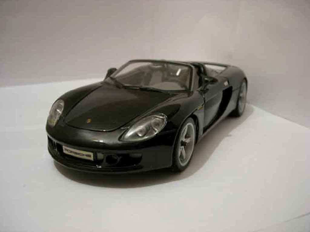 Porsche Carrera GT 1/18 Maisto black diecast model cars