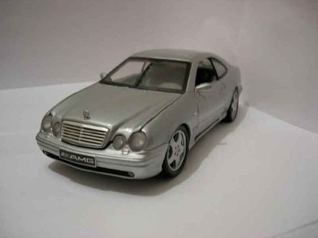 Mercedes Classe CL AMG 1/18 Anson K AMG grise metallisee miniature