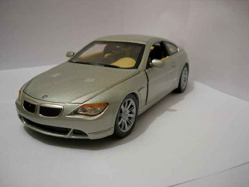 Bmw 645 E63 1/18 Hot Wheels ci coupe interieur cuir peau autruche superb sellerie diecast model cars
