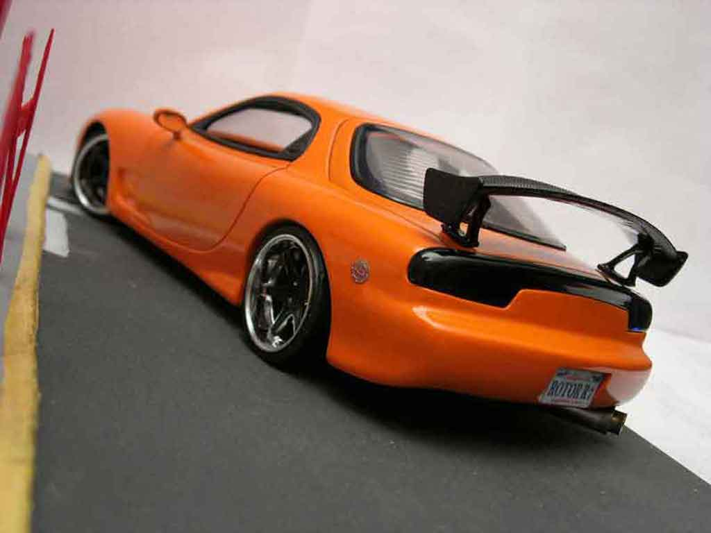 Mazda RX7 1/18 Kyosho fd3s tuning tuning diecast model cars