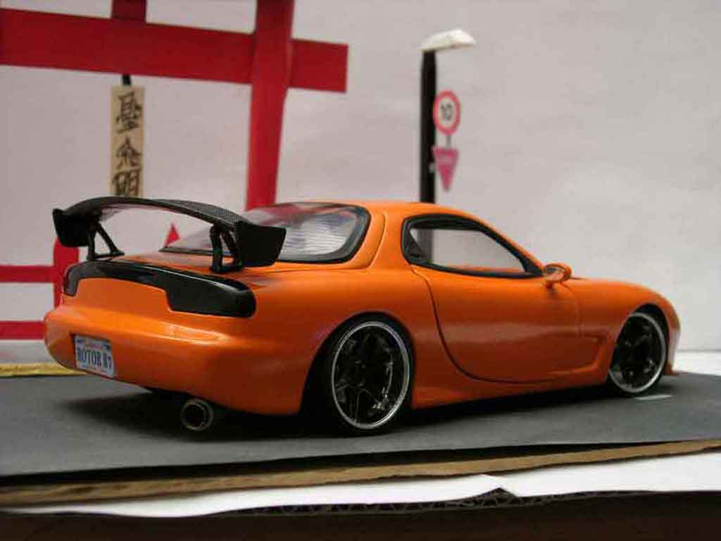 mazda rx7 fd3s tuning kyosho modellauto 1 18 kaufen. Black Bedroom Furniture Sets. Home Design Ideas