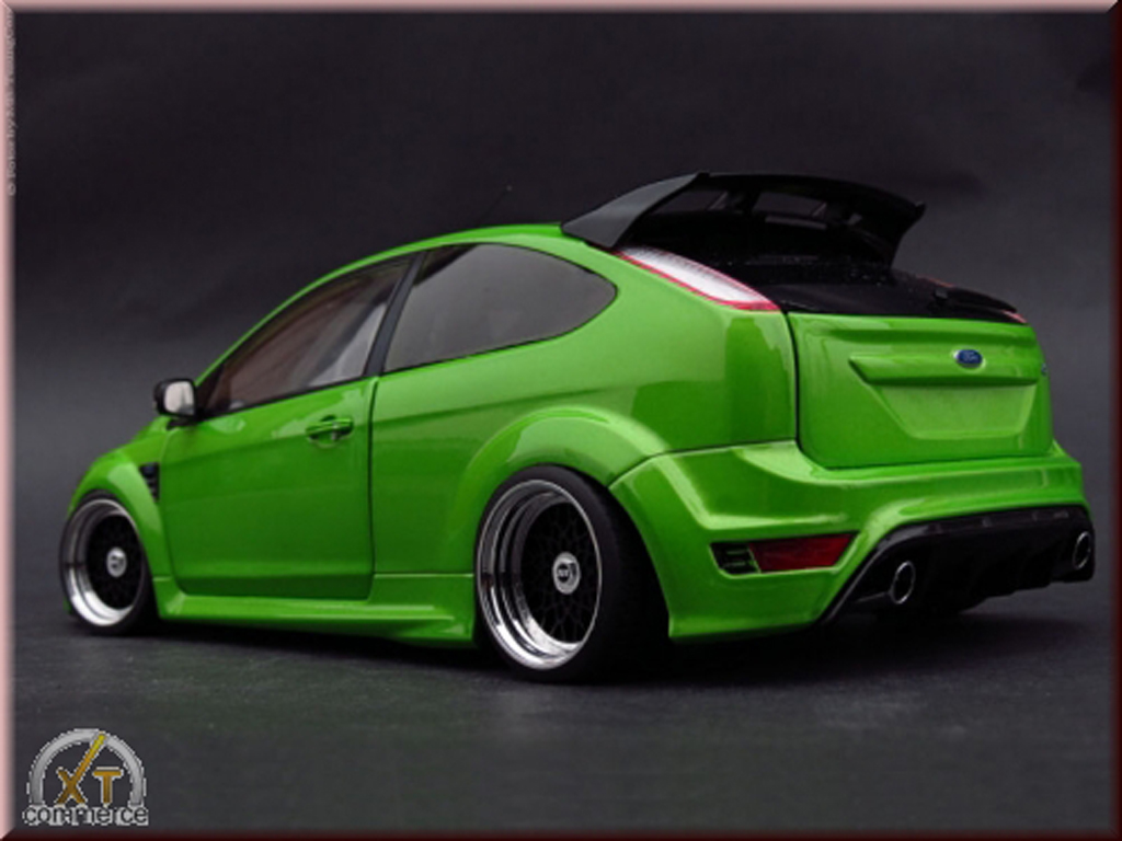 ford focus rs green 2010 jantes bbs 18 pouces minichamps diecast model car 1 18 buy sell. Black Bedroom Furniture Sets. Home Design Ideas