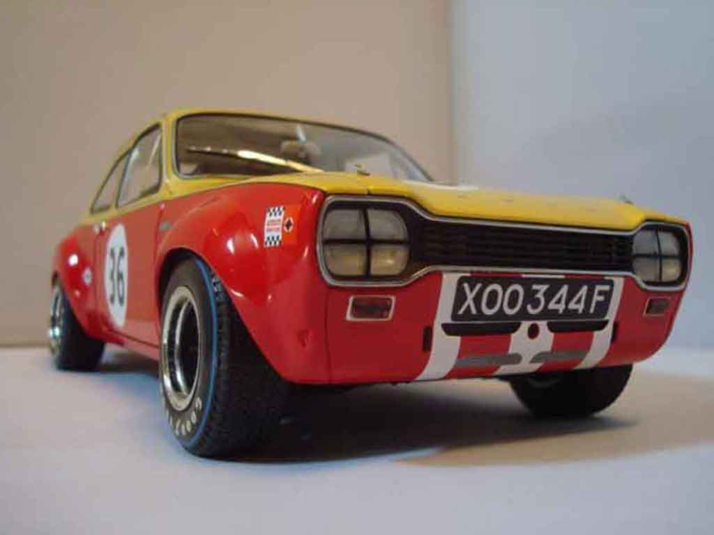 Ford RS 1600 1/18 Minichamps twincam competition #36 tuning diecast model cars
