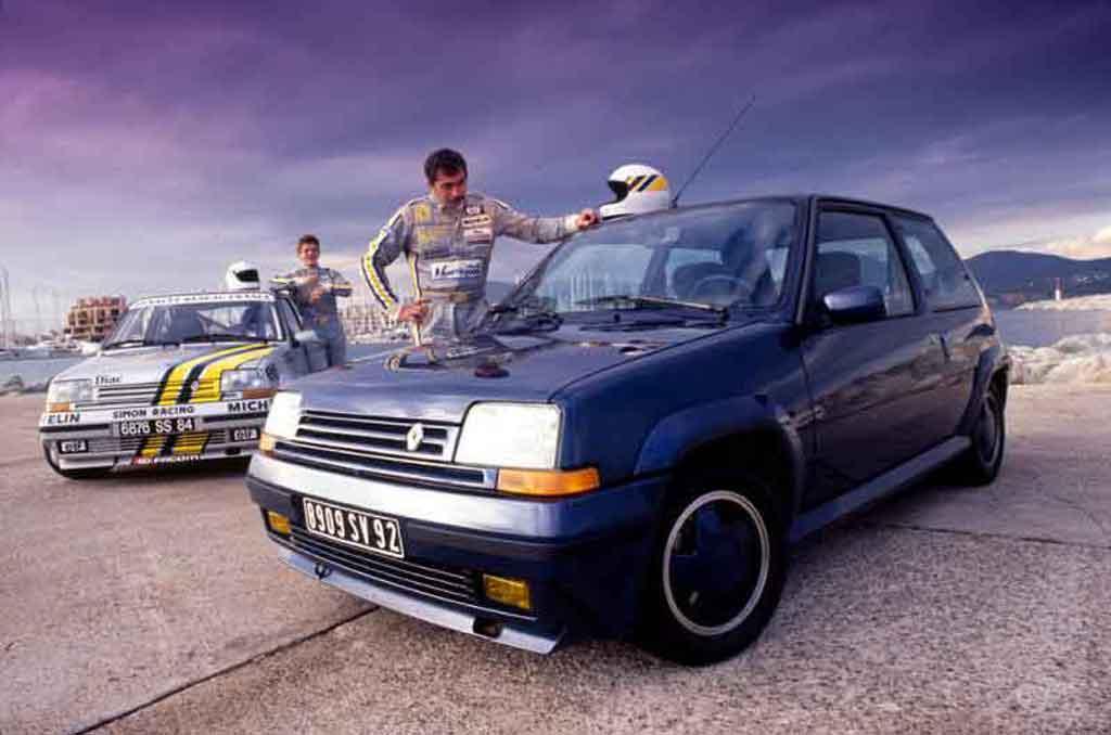 Renault 5 1/18 Norev GT Turbo serie limitee alain oreille