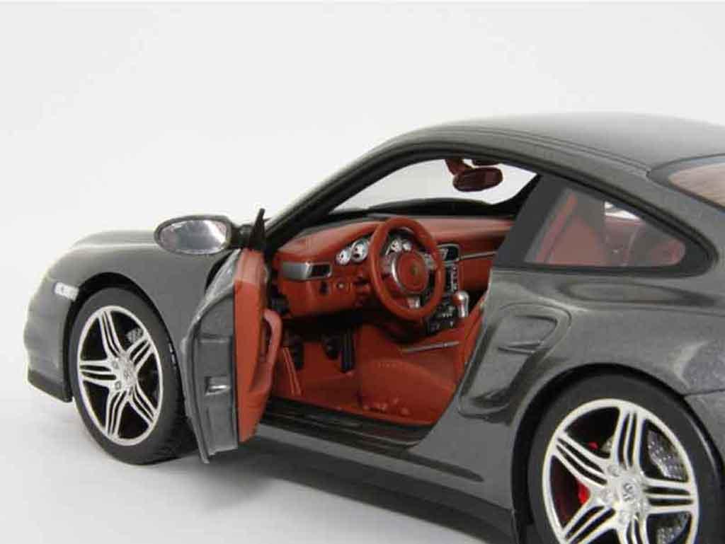 Porsche 997 Turbo Gray Norev Diecast Model Car 118 Buysell