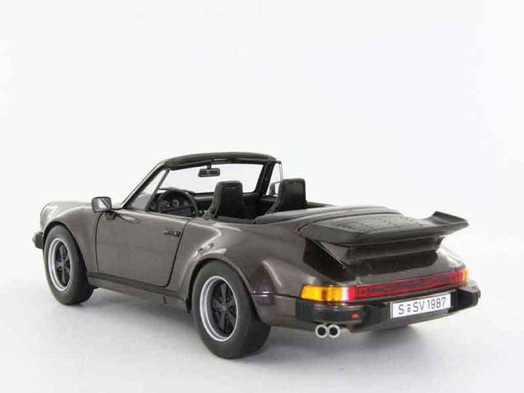 Porsche 930 Turbo 1/18 Norev cabriolet miniature