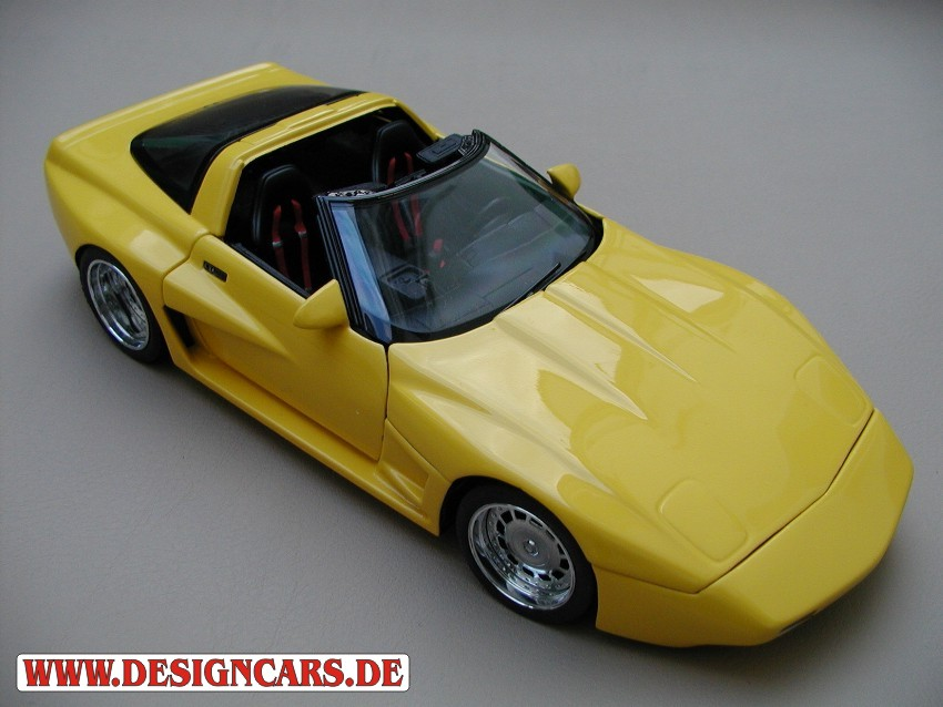 Voiture de collection Chevrolet Corvette ZR1 geiger c4 tuning Maisto. Chevrolet Corvette ZR1 geiger c4 miniature 1/18