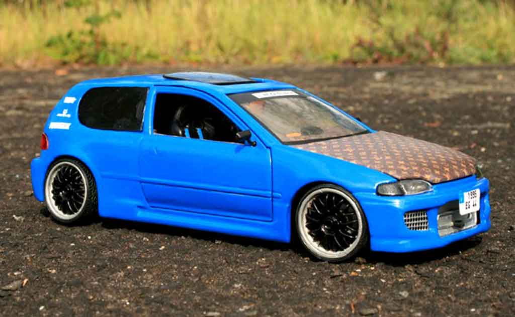 Honda Civic 1/18 Ertl eg tuning miniature