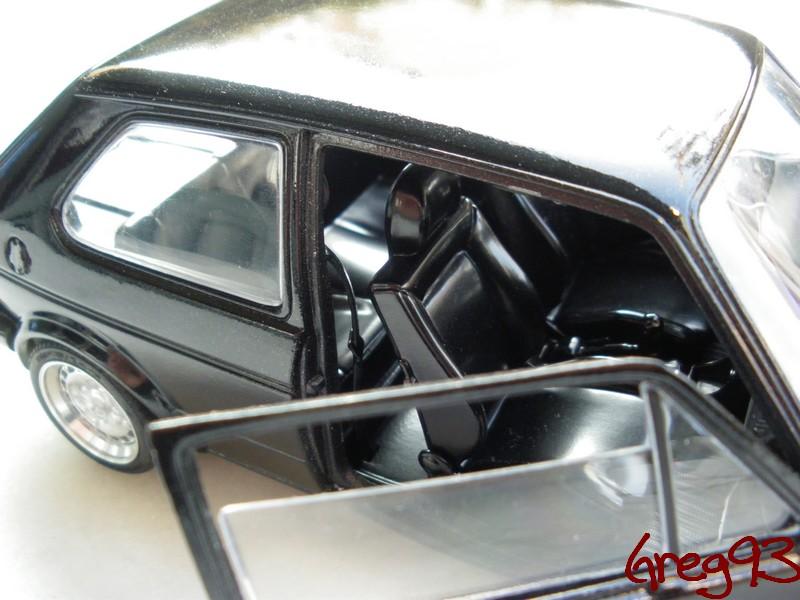 Volkswagen Golf 1 GTI 1/18 Solido jantes schmidt