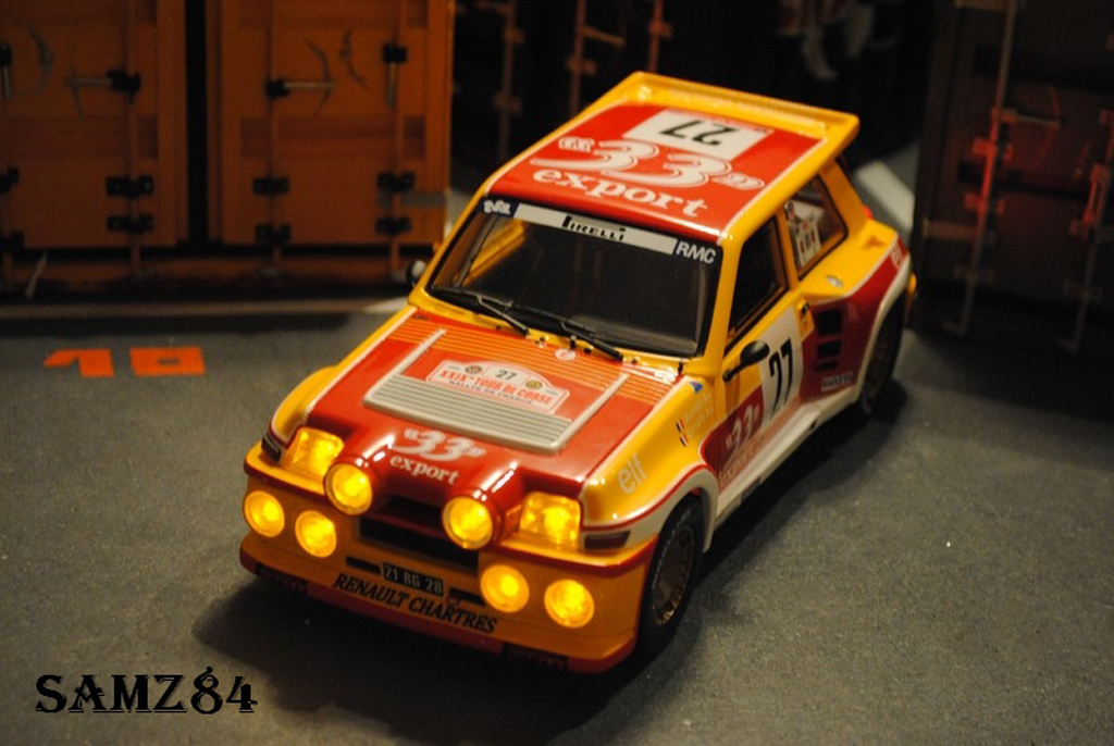 Renault 5 Turbo 1/18 Ottomobile Maxi 33 Export LED