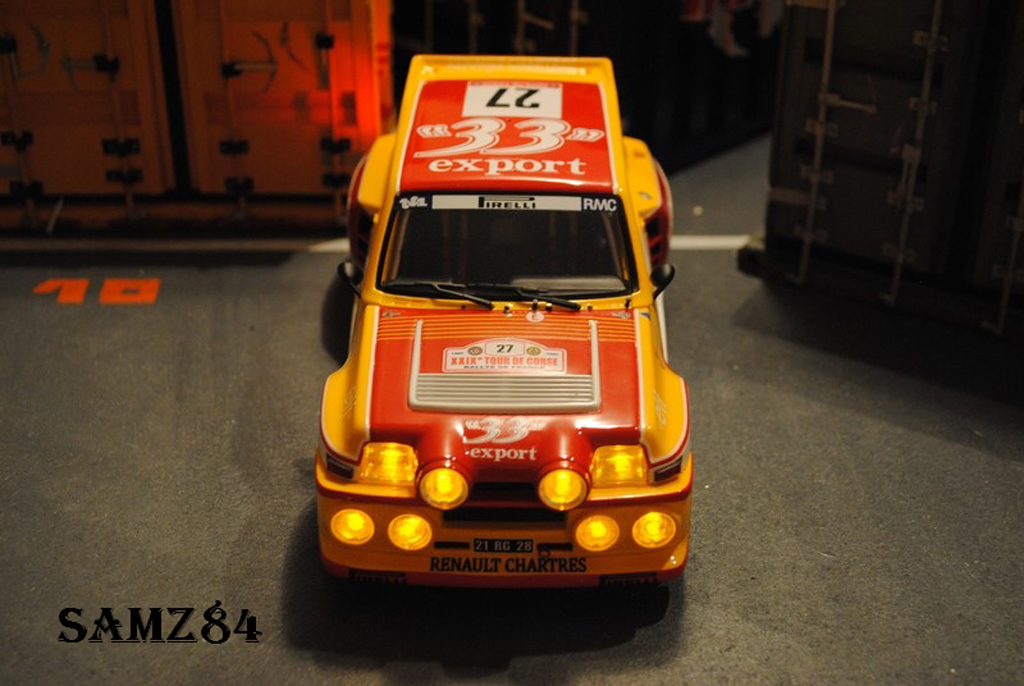 Renault 5 Turbo 1/18 Ottomobile Maxi 33 Export LED tuning modellautos