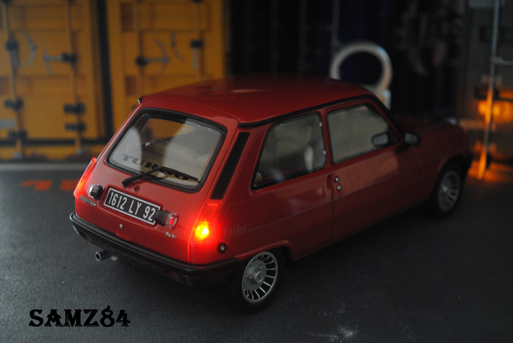 Renault 5 alpine turbo red led ottomobile diecast model car 1 18 buy sell diecast car on - Renault 5 alpine turbo coupe ...