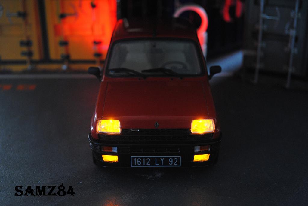 Renault 5 Alpine 1/18 Ottomobile Turbo Rouge LED