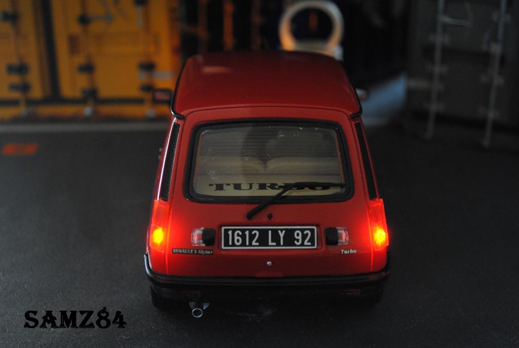 renault 5 alpine miniature turbo rouge led ottomobile 1 18 voiture. Black Bedroom Furniture Sets. Home Design Ideas