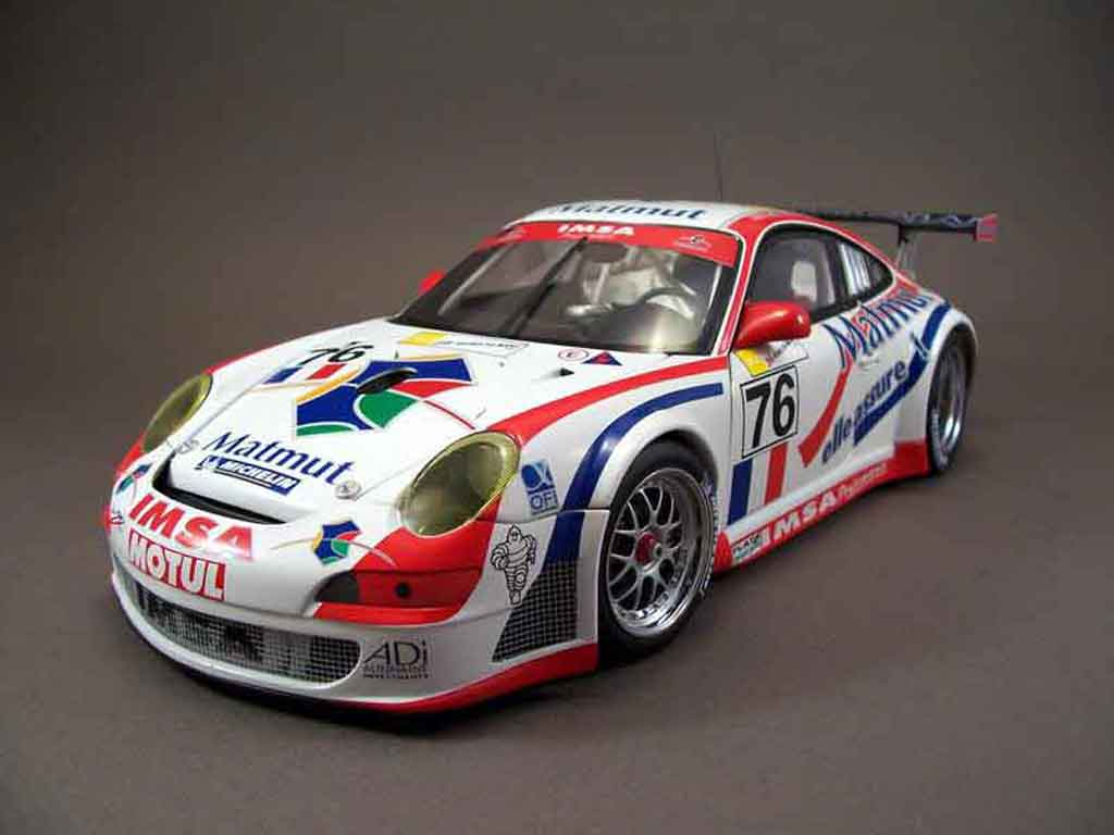 Porsche 997 GT3 RSR 1/18 Autoart 2007 76lm07 miniature