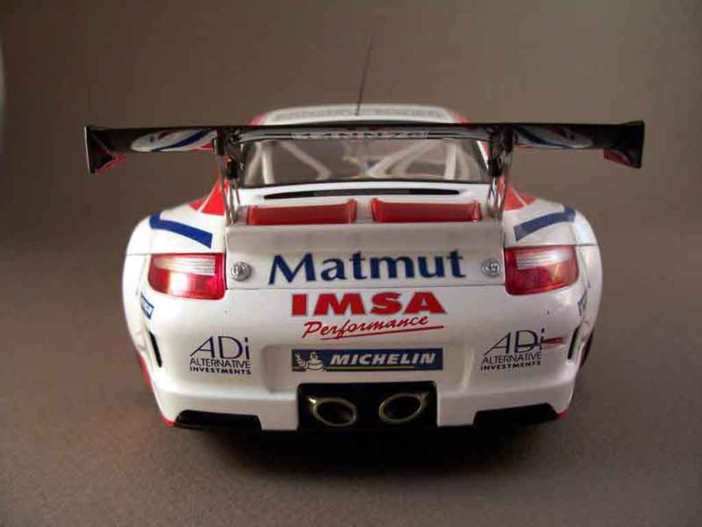 Porsche 997 GT3 RSR 2007 76lm07 Autoart. Porsche 997 GT3 RSR 2007 76lm07 DTM miniature miniature 1/18