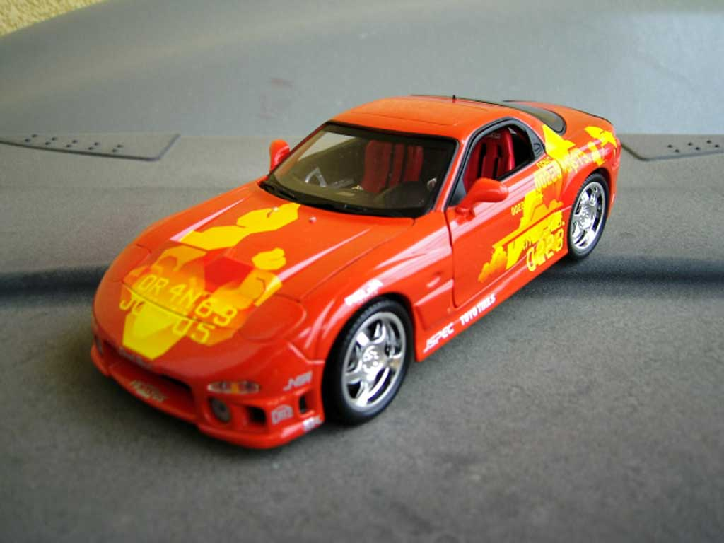 Mazda RX7 Fast and furious Ertl. Mazda RX7 Fast and furious Fast and Furious miniature 1/18