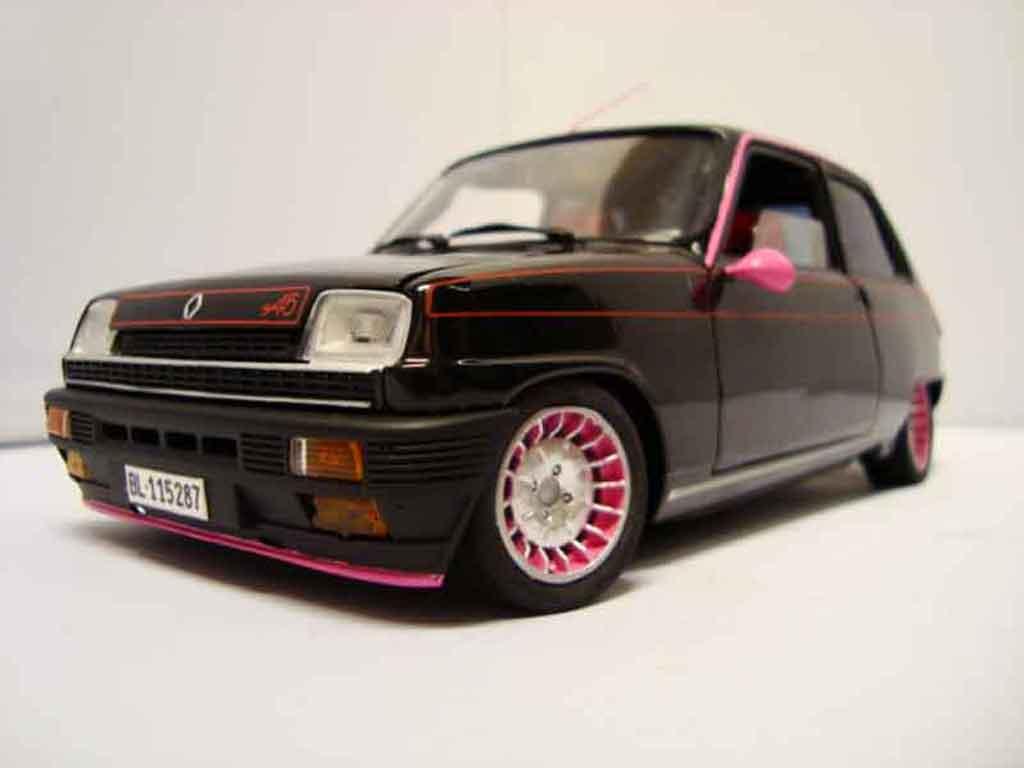 renault 5 alpine miniature tuning solido 1 18 voiture. Black Bedroom Furniture Sets. Home Design Ideas