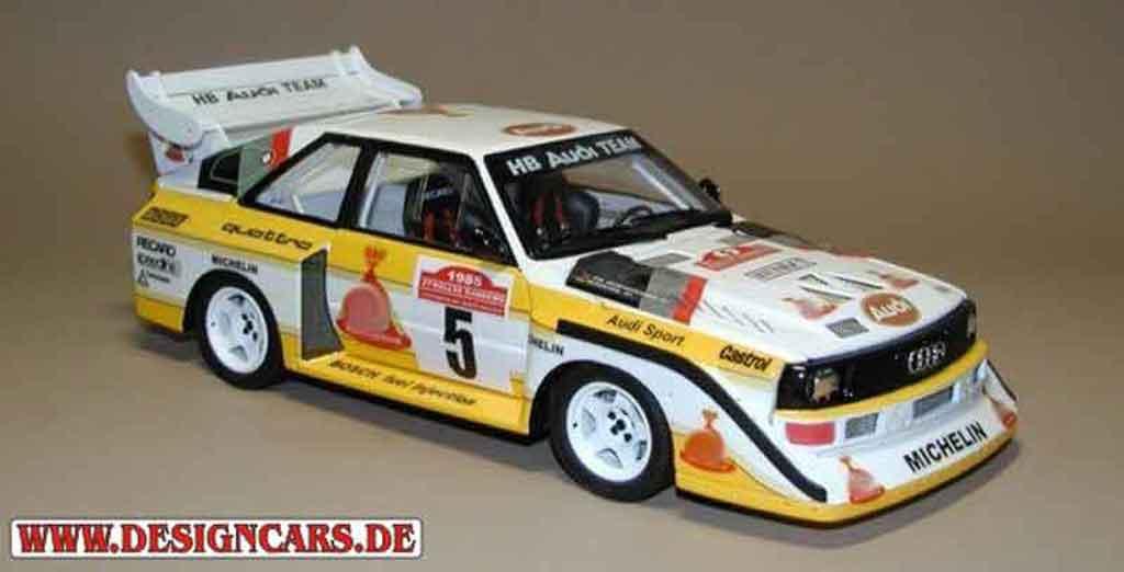 Audi S1 1/18 Autoart san remo 1985