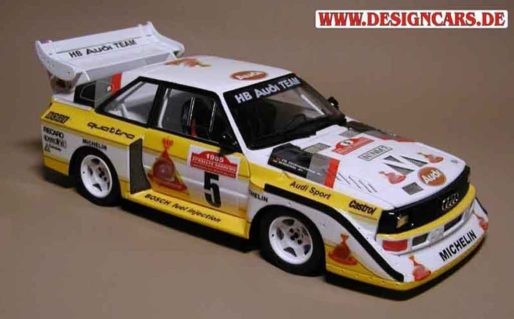audi s1 san remo 1985 autoart modellauto 1 18 kaufen verkauf modellauto online. Black Bedroom Furniture Sets. Home Design Ideas