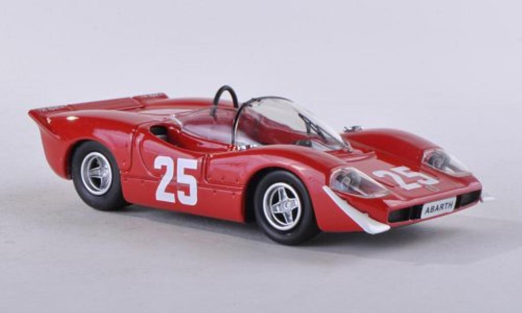 Abarth 2000 1/43 Best No.25 Nurburgring 1969 miniature