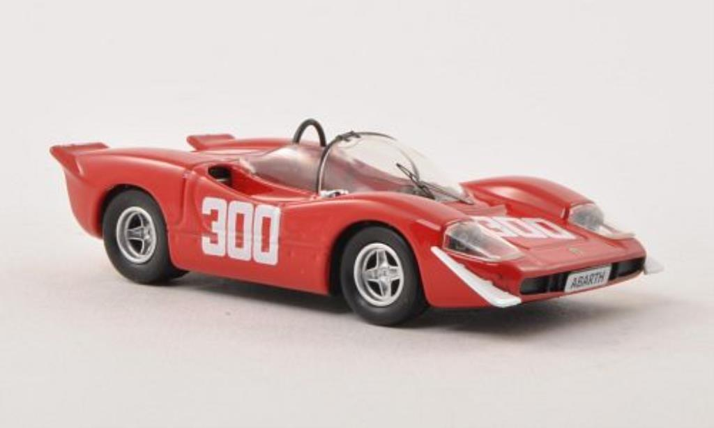 Abarth 2000 1/43 Best S No.300 Bolzano - Mendola 1969 miniature